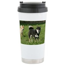 shiba_shoulderbag Travel Mug
