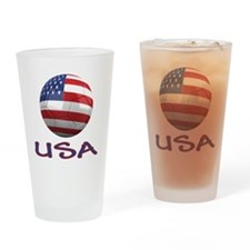 usa ns Drinking Glass