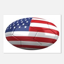 usa oval Postcards (Package of 8)