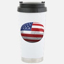 usa oval Travel Mug