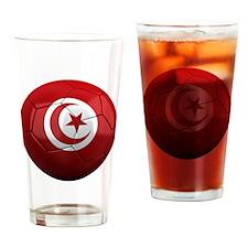 turkey round Drinking Glass