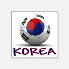 "south korea Square Sticker 3"" x 3"""