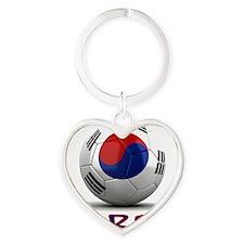 south korea Heart Keychain