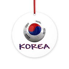 south korea ns Round Ornament