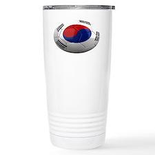 south korea oval Travel Mug