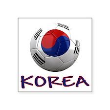 """south korea ns Square Sticker 3"""" x 3"""""""