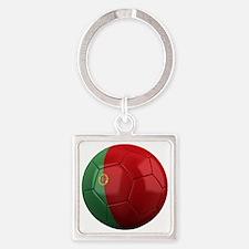 portugal round Square Keychain