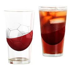 poland round Drinking Glass