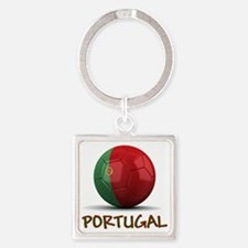 portugal Square Keychain