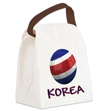 north korea ns Canvas Lunch Bag