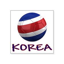 """north korea ns Square Sticker 3"""" x 3"""""""