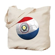 paraguay round Tote Bag