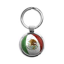 mexico round Round Keychain