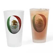 mexico round Drinking Glass