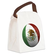 mexico round Canvas Lunch Bag