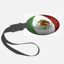 mexico oval Luggage Tag
