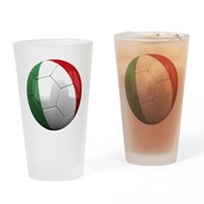 italy round Drinking Glass