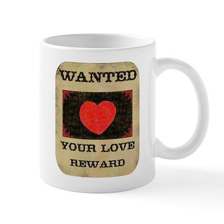 Love Wanted Mug