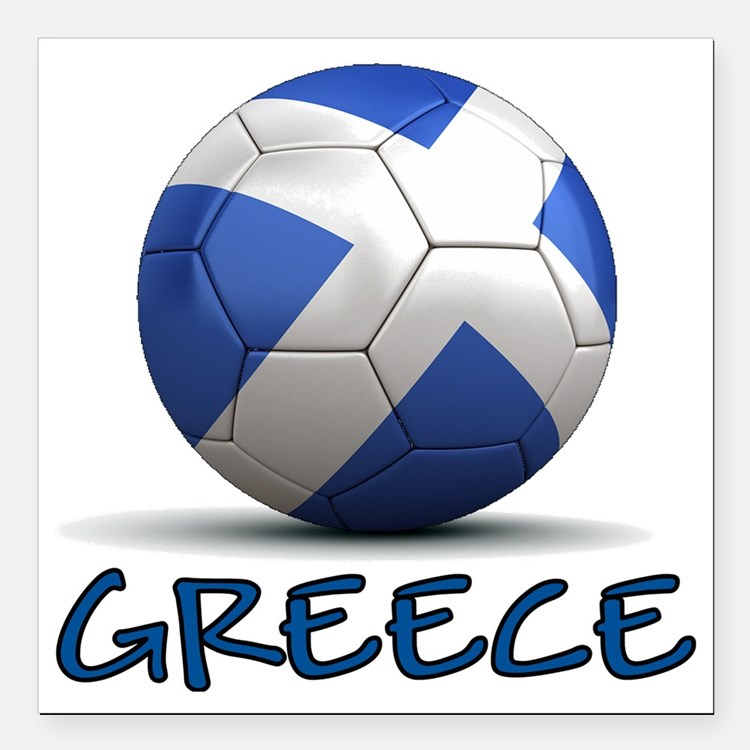 "greece Square Car Magnet 3"" x 3"""