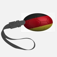 germany oval Luggage Tag