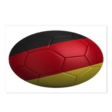 germany oval Postcards (Package of 8)