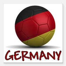 "germany Square Car Magnet 3"" x 3"""