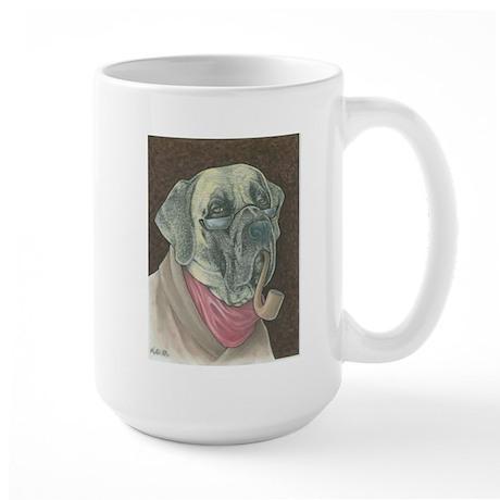 Smokin' Po Mastiff - Large Mug