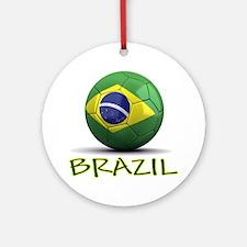brazil Round Ornament