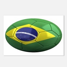 brazil oval Postcards (Package of 8)