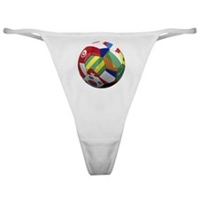 cup fever 2 round Classic Thong