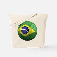 brazil round Tote Bag