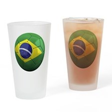 brazil round Drinking Glass