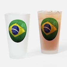 brazil round Drinking Glass
