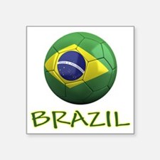 "brazil ns Square Sticker 3"" x 3"""