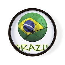 brazil ns Wall Clock