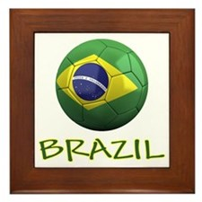 brazil ns Framed Tile