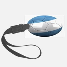 argentina oval Luggage Tag