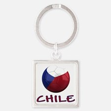 chile ns Square Keychain