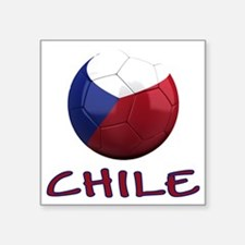 "chile ns Square Sticker 3"" x 3"""