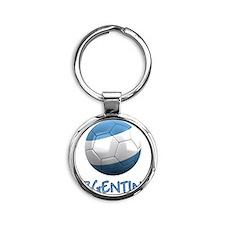 argentina ns Round Keychain