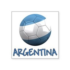 "argentina ns Square Sticker 3"" x 3"""