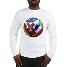 cup fever 1 round Long Sleeve T-Shirt