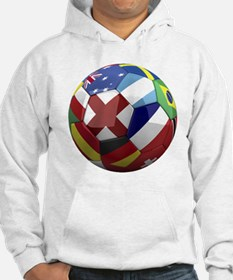 cup fever 1 round Hoodie