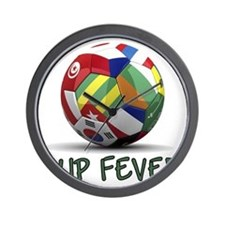 cup fever 2 Wall Clock