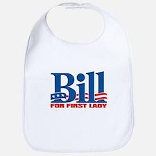 BILL FOR FIRST LADY Bib
