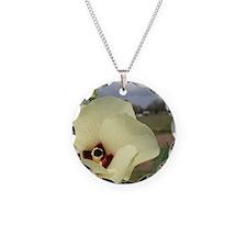 Okra Bloom Up Close Necklace
