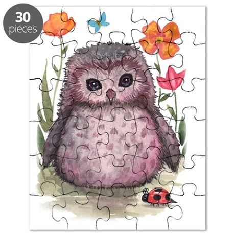 Purple Portly Owlet Puzzle