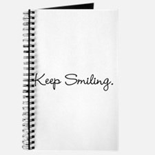 Keep Smiling Script Black Journal