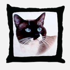 snoopthsml Throw Pillow