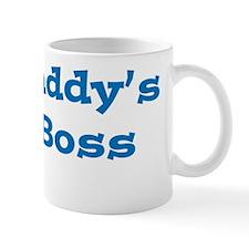 Daddy Boss White Mug